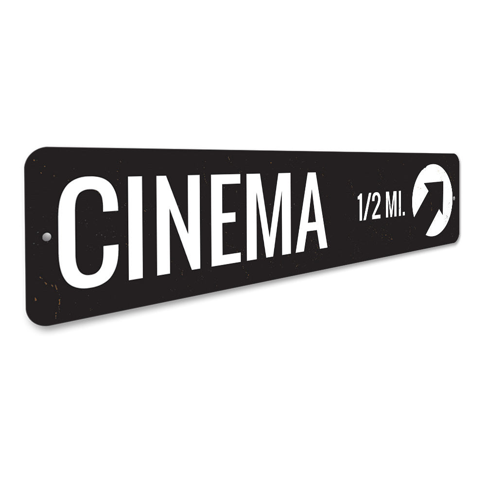 Cinema Sign Aluminum Sign
