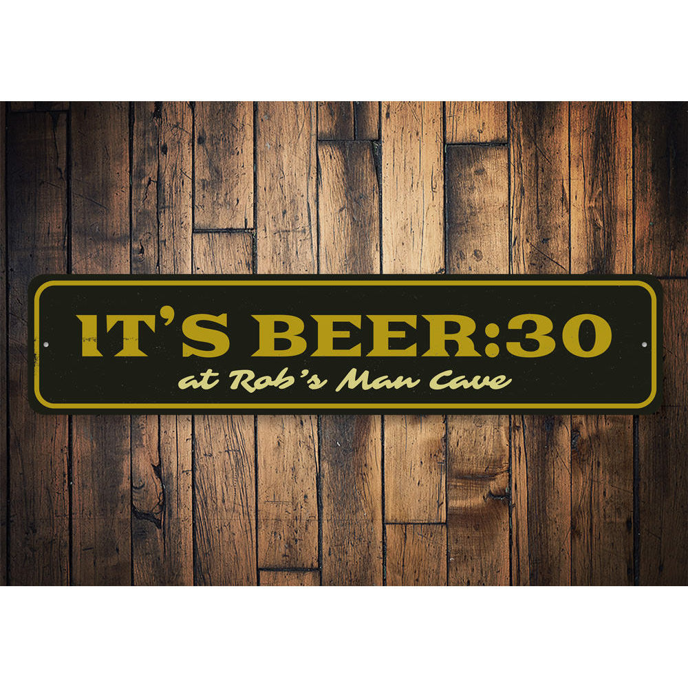 Beer 30 sign Aluminum Sign