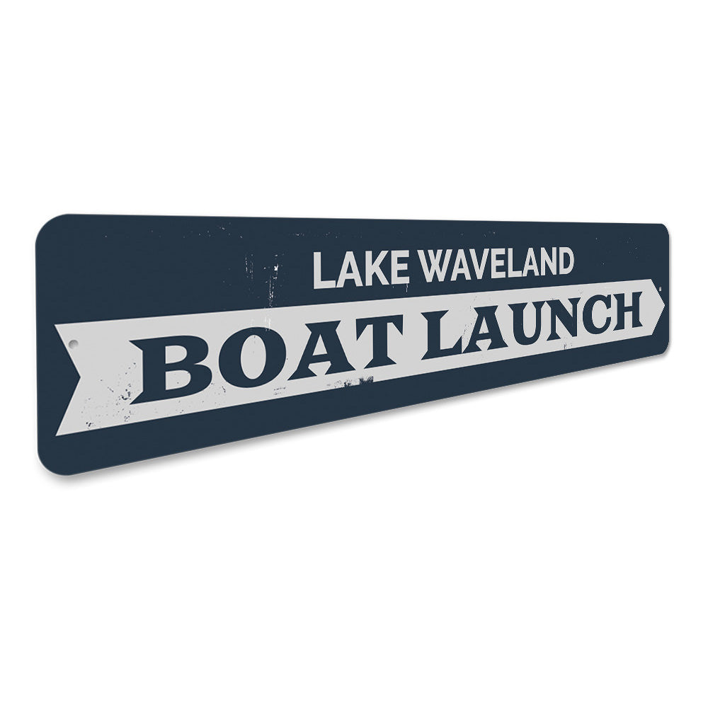 Boat Launch Sign Aluminum Sign