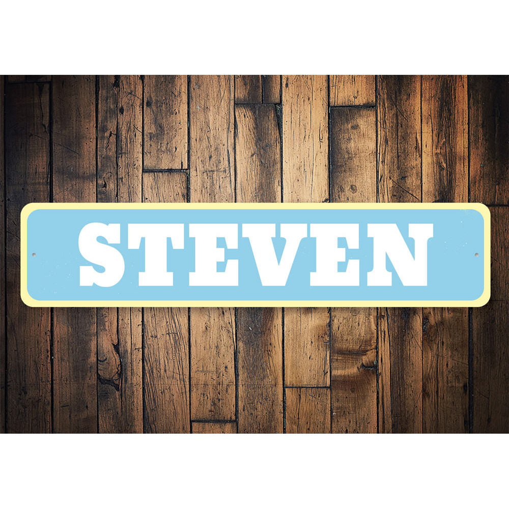 Baby Name Sign Aluminum Sign