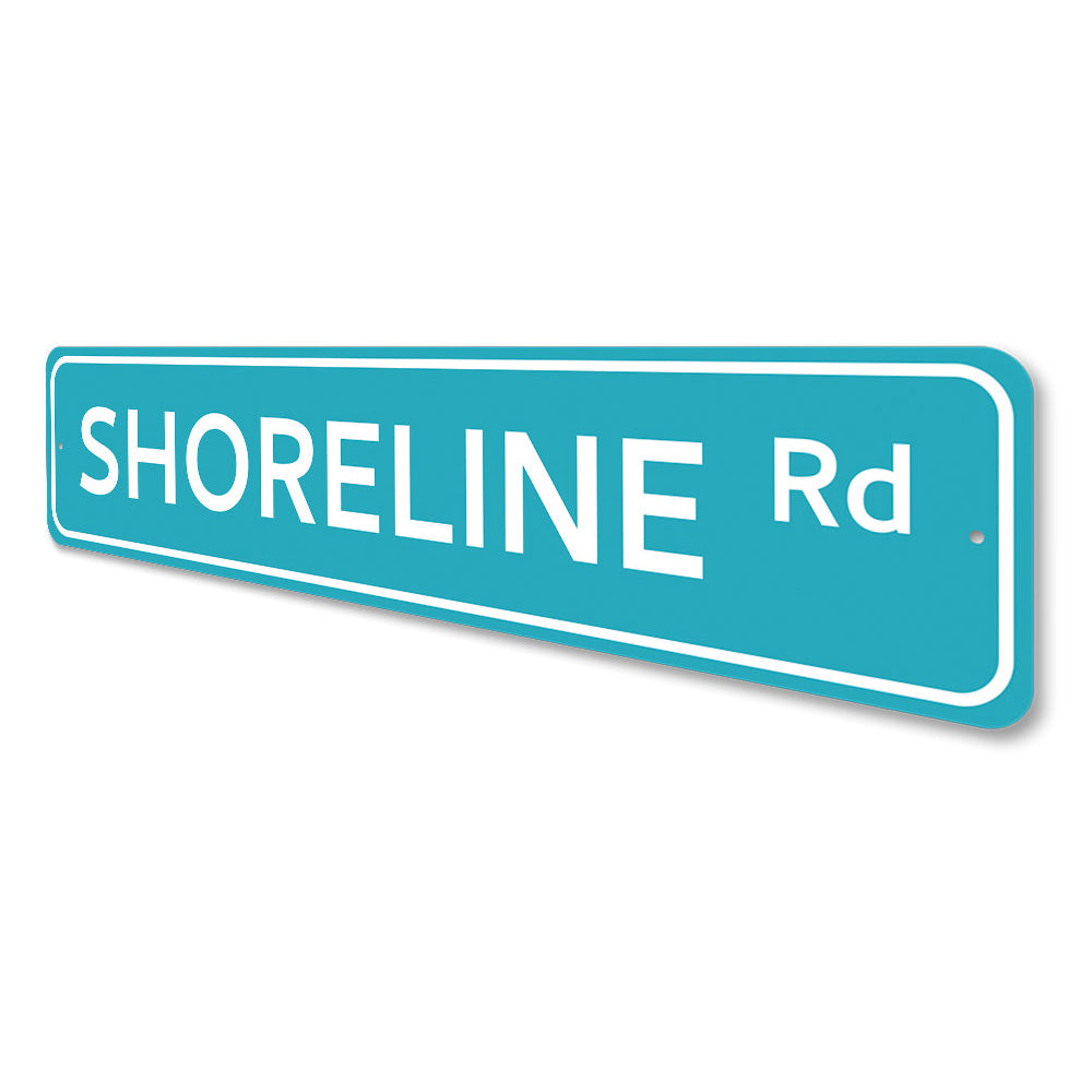 Shoreline Road Sign Aluminum Sign