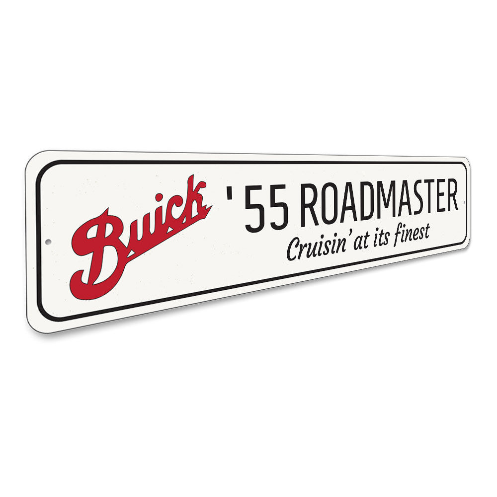 Roadmaster Sign Aluminum Sign