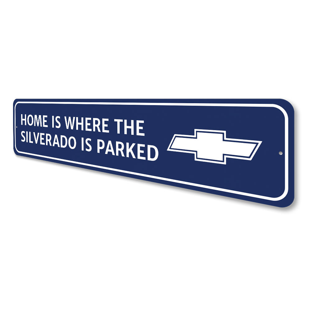 Silverado Sign Aluminum Sign