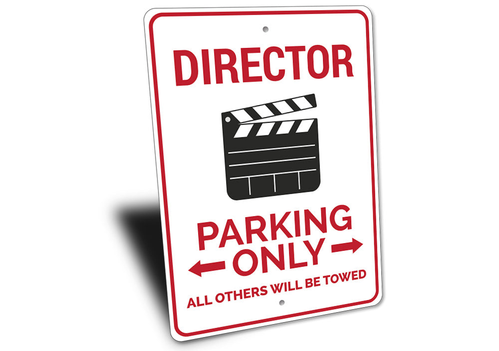 Director Parking Sign Aluminum Sign