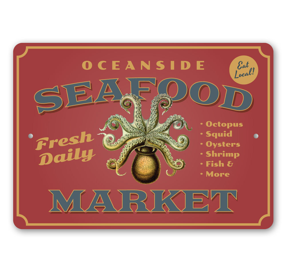 Oceanside Seafood Market Sign – Lizton ...