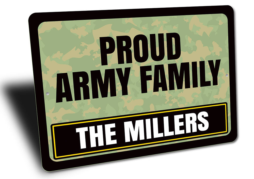 Army Sign Aluminum Sign