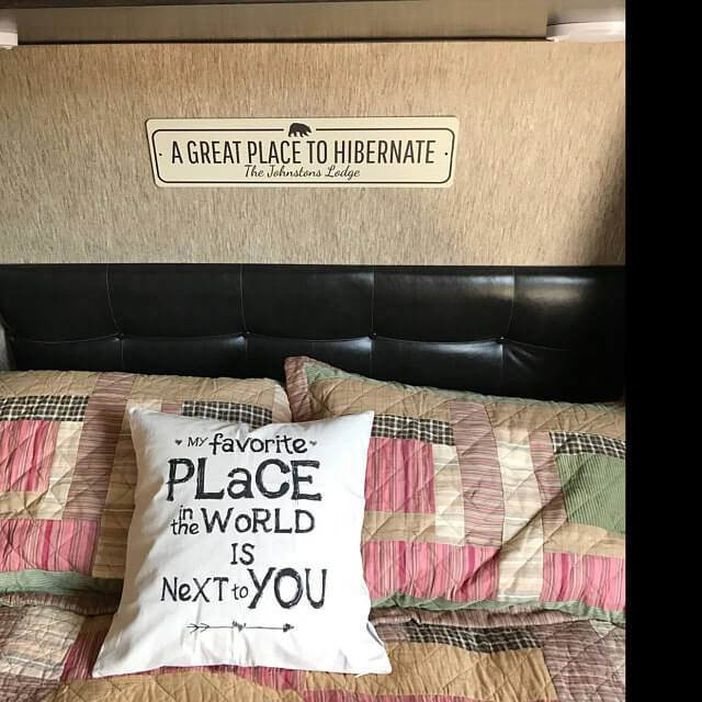 Great Place to Hibernate Sign