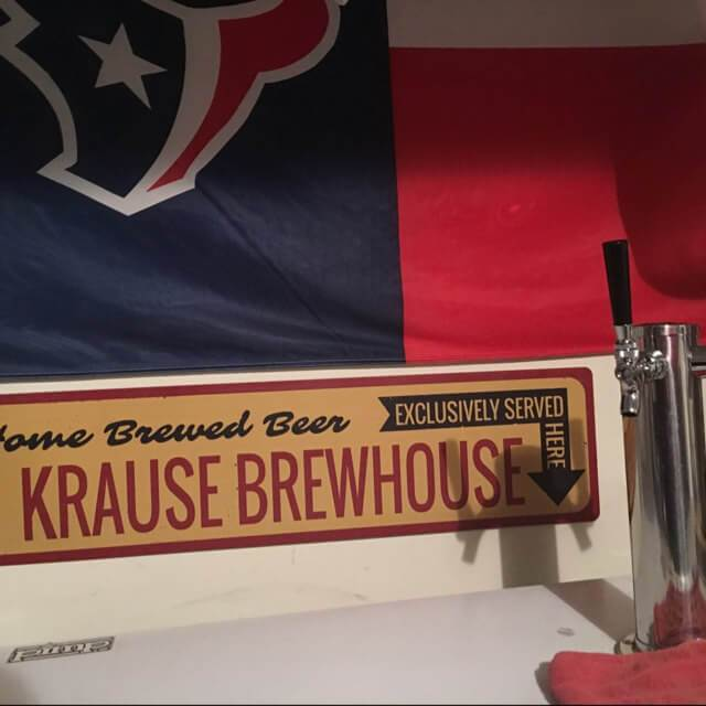 Home Brewed Beer Sign