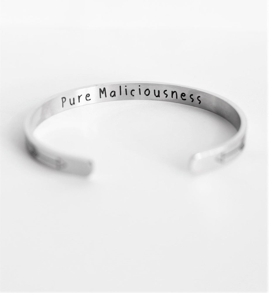 Your Anxiety Is Lying To You - Bangle Bracelet