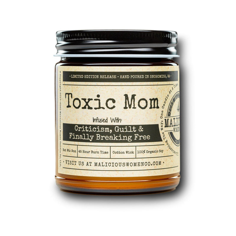 "Toxic Mom - Infused With "" Criticism, Guilt & Finally Breaking Free ""  Scent: Rebel Rose"
