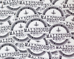 Malicious Women Co. - Bitches Against Bullshit - Pure Maliciousness Hand Cut Sticker Stickers Malicious Women Candle Co