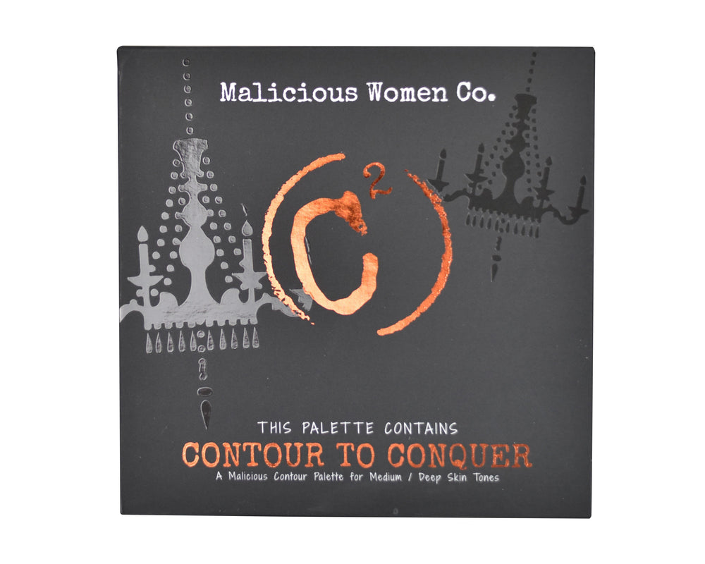 Contour To Conquer - C2 Powder Palette (Med/Deep)