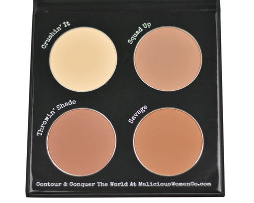 Contour To Conquer - Powder Palette (Fair/Light) Makeup Malicious Women Candle Co.