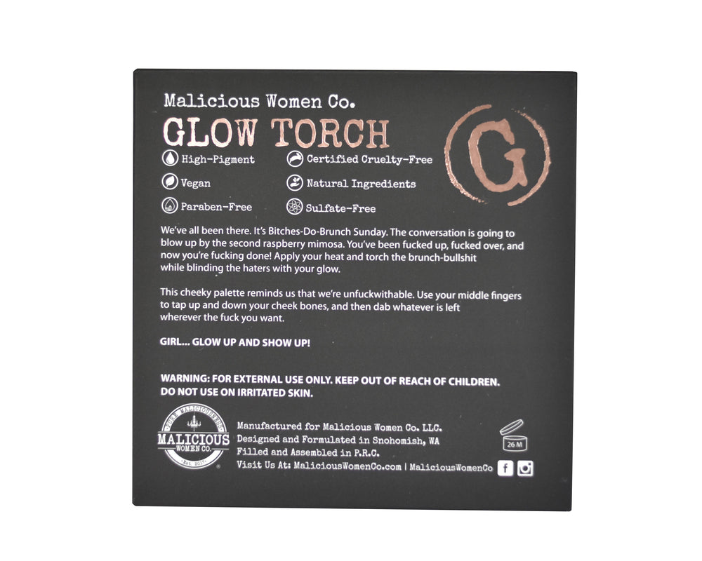 Malicious Women Co. - Glow Torch Highlighter Palette