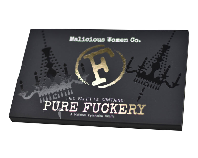 Pure Fuckery - Eyeshadow Palette Makeup Malicious Women Candle Co.