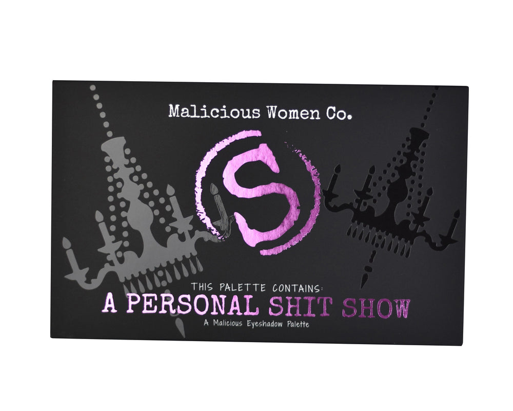 Malicious Women Co. - A Personal Shit Show Eyeshadow Palette