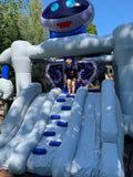 Robot Bouncy Castle and Slide (19' x 13' x 13') All Day Rental