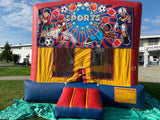 Mix and match bouncy  castle(13x13x13)