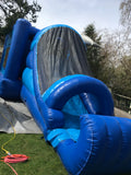 Dolphin Bouncy Castle & Slide (27' x 13' x 13') All Day Rental