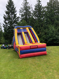 Double Bay Accelerator Slide (33' x 15' x 22') all day rental