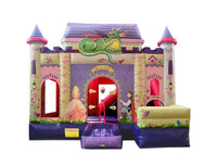 Princess Bouncy Castle & Slide (13' x 13' x 13') All Day Rental