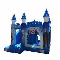 Frozen Bouncy Castle & Slide (16' x 16' x 13') All Day Rental