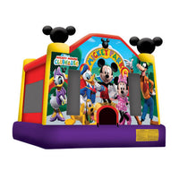 Mickey Mouse Bouncy Clubhouse (13' x 13' x 13') All Day Rental