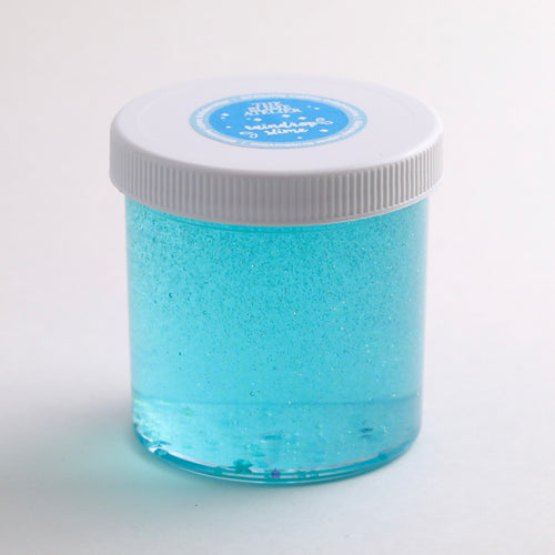 Glistening Lagoon Clear Slime
