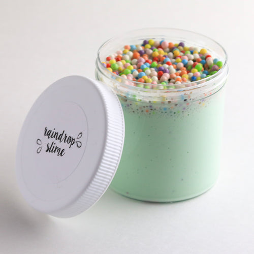 Rainbow Shamrock Shake Floam