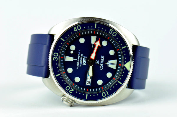 SMC Rubber - Blue Vented Rubber Strap