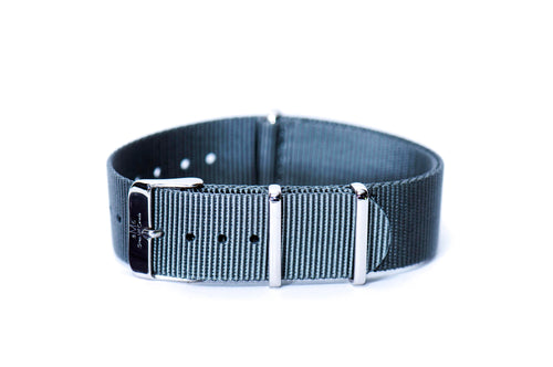 Slate Gray Nato Watch Strap