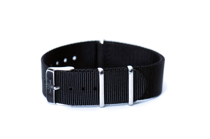 Space Black Nato Watch Strap (Short)