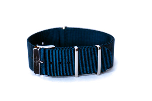 Ocean Blue Nato Watch Strap