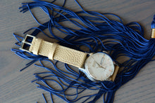 Vanilla Marbled Leather Strap