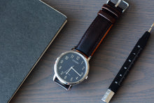 Oil Tanned Dark Brown Leather Strap (Sold As-Is)