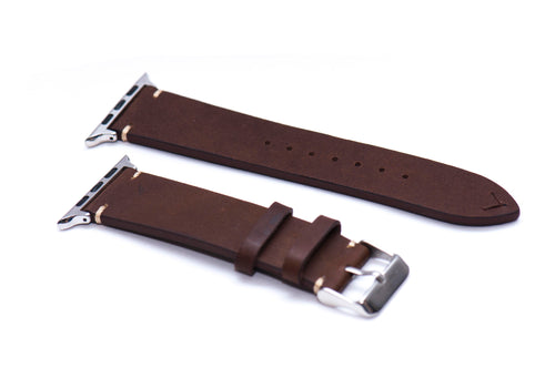 Chestnut Brown Double Sided Leather Strap 2.0 for Apple Watch