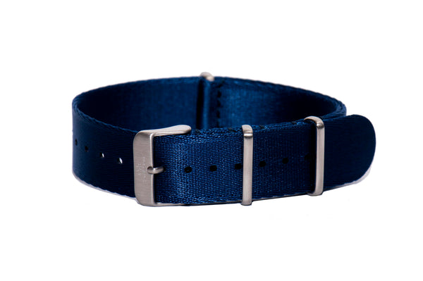 Royal Blue Thin Seatbelt Nato Watch Strap