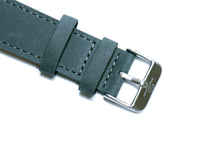 Ash Blue Crazy Horse Leather Strap