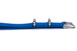 Egyptian Blue Cross Stitched Nato Watch Strap