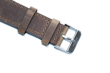 Ash Grey Crazy Horse Leather Strap 2.0