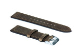 Ash Grey Crazy Horse Leather Strap