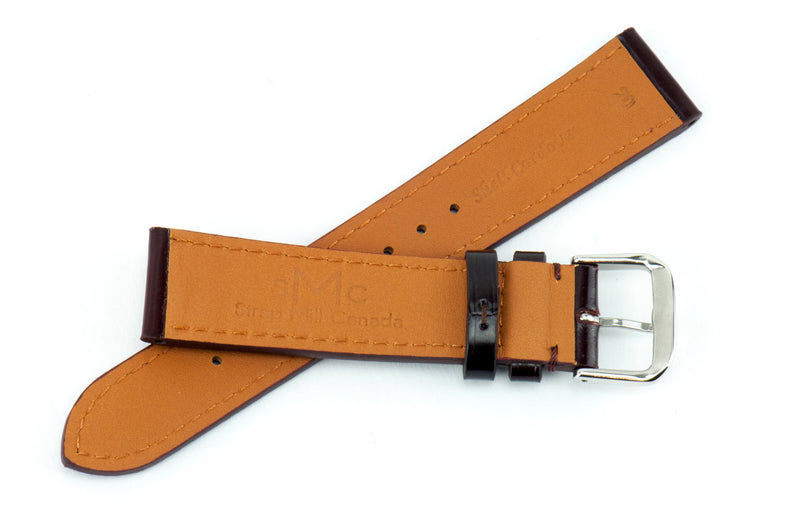 Brown Shell Cordovan Leather Strap