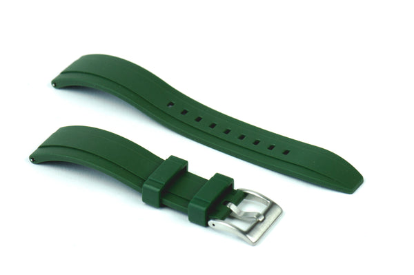 SMC Rubber - Green Vented Rubber Strap