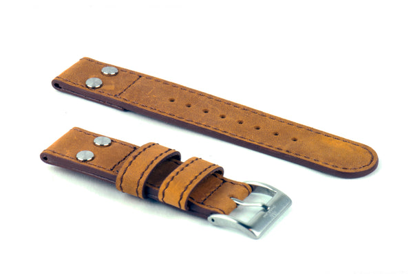 Brown Pilot Leather Strap