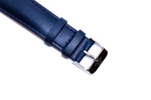 Oxford Blue Italian Calf Leather Strap