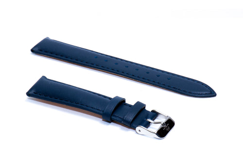 Oxford Blue Italian Calf Leather Strap (Sold As-Is)