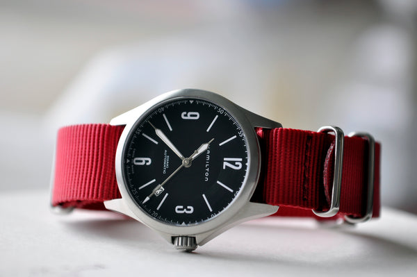Canadian Red Nato Watch Strap