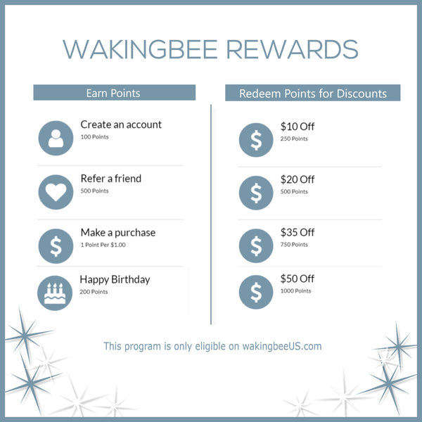 Wakingbee Rewards Program