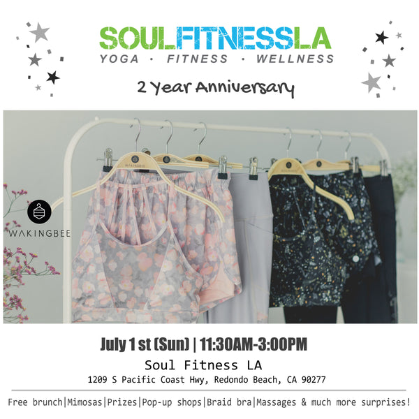 Jul 1 (Sun) - Pop-up at Soul Fitness LA, Redondo Beach