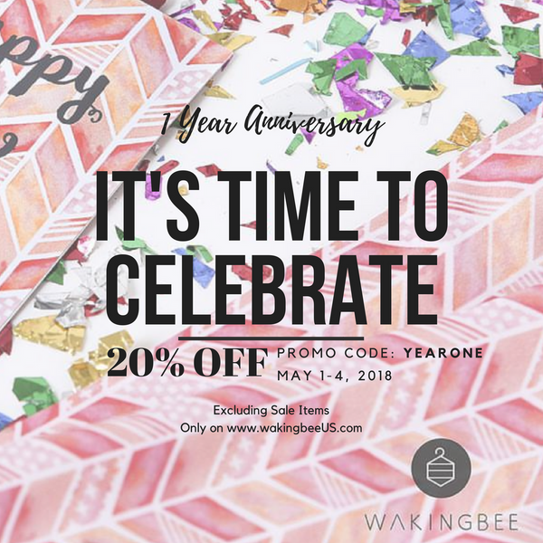 Anniversary Sale, 20% OFF!